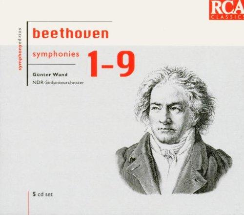 wand,günter/ndr sinfonieorchester-sinfonien.1-9, beethoven,ludwig van(CD NEU!)