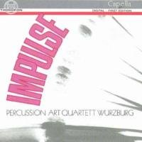 percussion art quartett - impulse, various (CD) 4003913120632