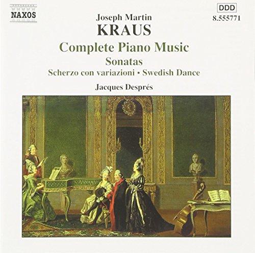 jacques despres - komplette klaviermusik, Joseph Martin Kraus (CD NEU!!!)