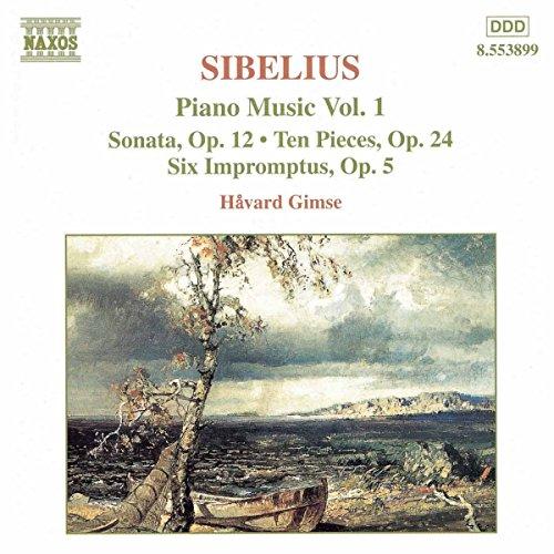 havard gimse - klavier musik vol. 1, Jean Sibelius (CD) 730099489928