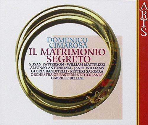gabriele bellini - cimarosa: il matrimonio segreto (CD) 782124216320