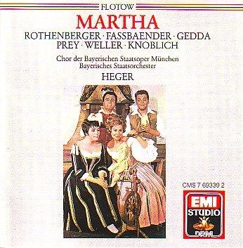 rothenberger - flotow: martha, Friedrich Von Flotow (CD) 077776933924