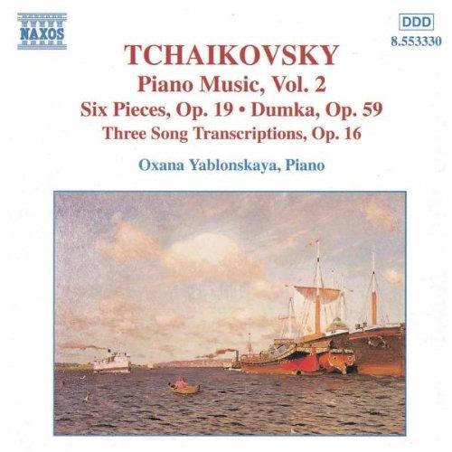 oxana yablonskaya - klaviermusik vol. 2, Peter Iljitsch Tschaikowsky (CD)