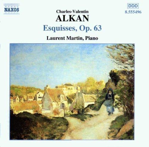 laurent martin - esquisses op.63, Charles Valentin Alkan (CD) 747313549627