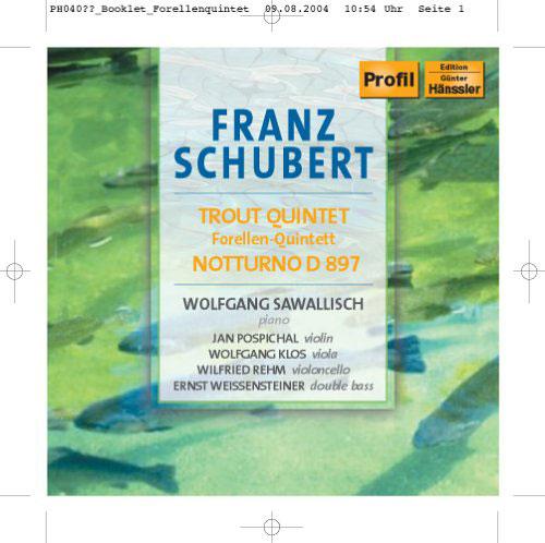 sawallisch - forellenquintett/notturno, Franz Schubert (CD NEU!!!)