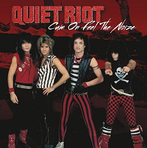 quiet riot-threads+groovescum on feel the noize b/w run [vinyl single]SINGLE 7 I