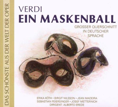 Köth/Erede - Verdi: Ein Maskenball (Qs - Deutsch), Giuseppe Verdi (CD)
