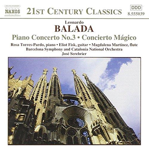 José Serebrier - Balada: Concierto Mágico etc., Leonardo Balada (CD)